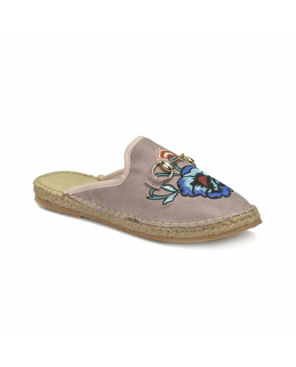 Women's Light Pink-Lilac Slippers