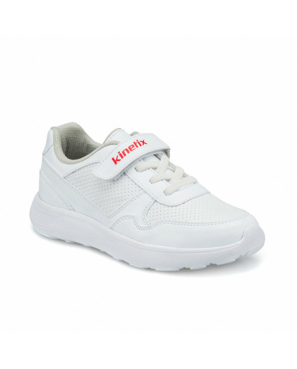 Boy's White Sneaker Shoes