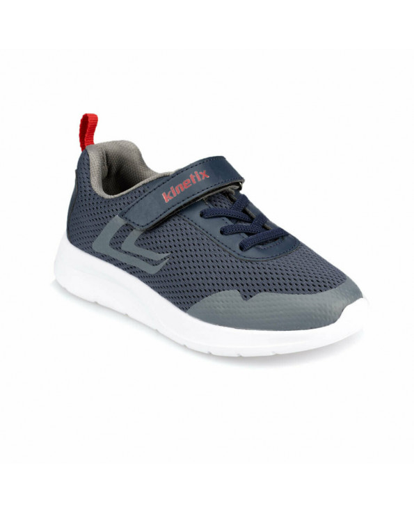 Boy's Navy Blue Walking Shoes