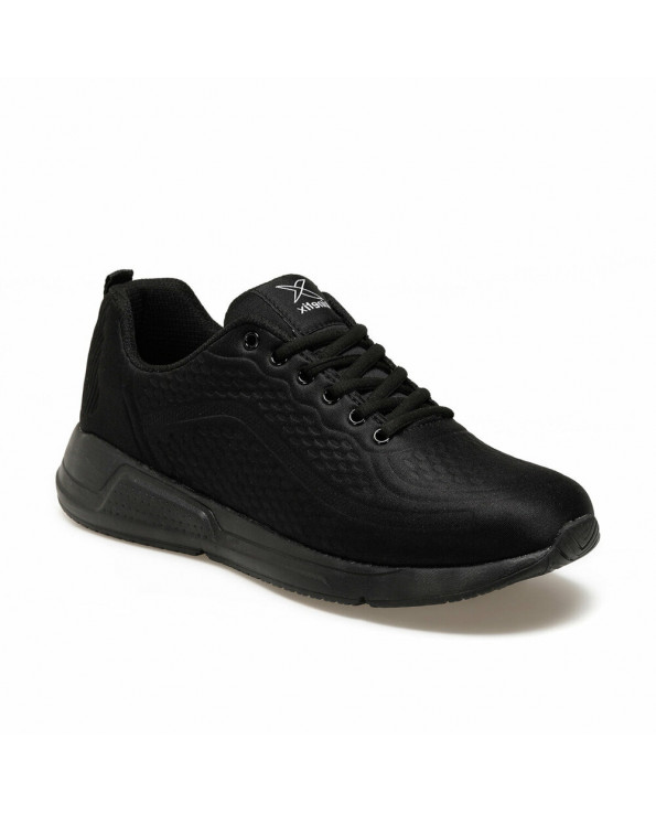 Men's Lace-up Black Sneakers