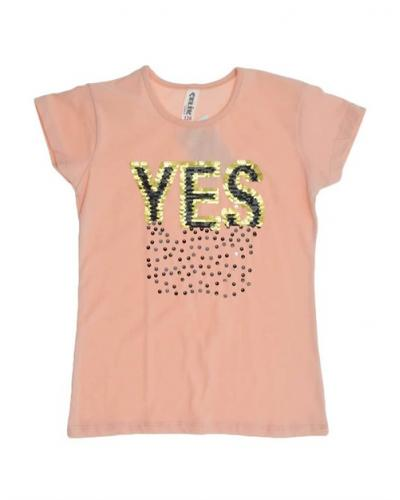 Girl's Sequin Printed T-shirt