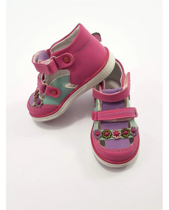 Girl's Banded Summer Orthopedic Shoes