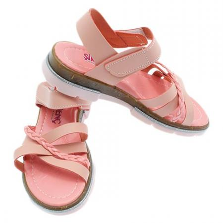 Girl's Velcro Strap Orthopedic Sandals
