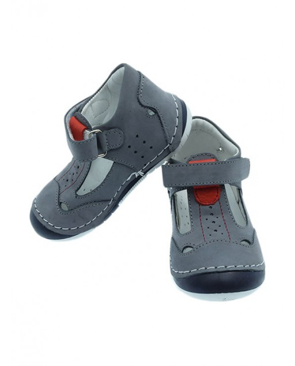 Baby Boy's Velcro Strap Orthopedic Shoes
