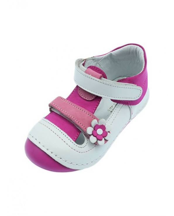Baby Girl's Velcro Strap Orthopedic Shoes