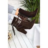 Women's Brown Suede Boots
