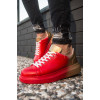 Men's Yellow- Red Sport Shoes