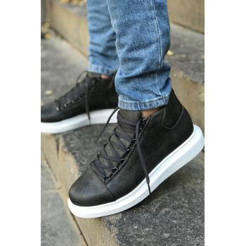 Men's Lace-up Anthracite Boots