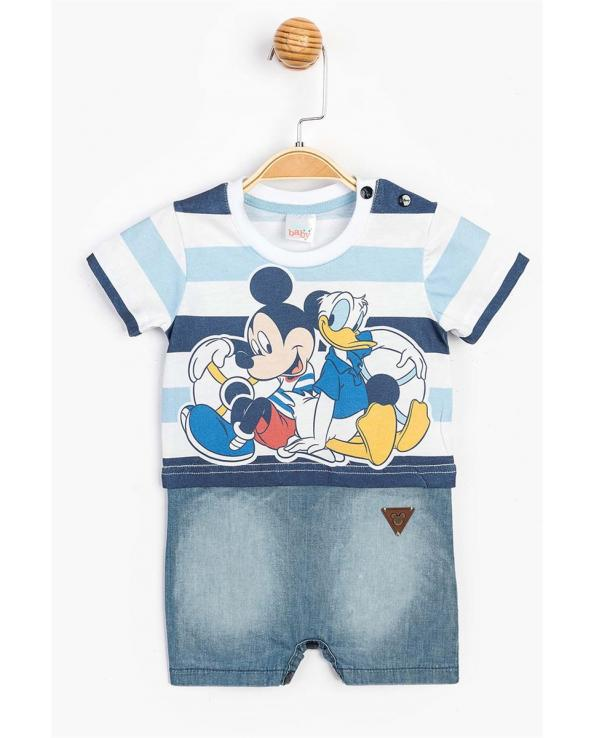 Baby Boy's Snap Button Overall