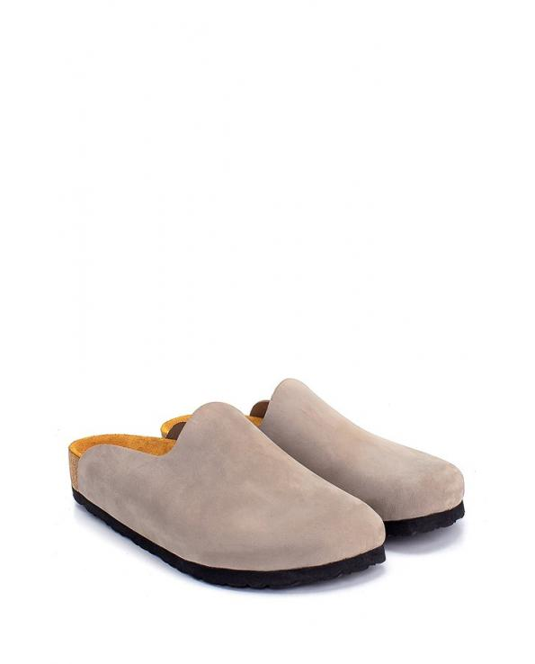 Women's Anatomic Cork Footbed Leather Slippers