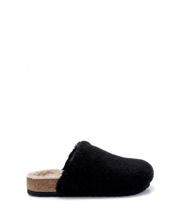 Women's Anatomic Cork Footbed Feathered Slippers
