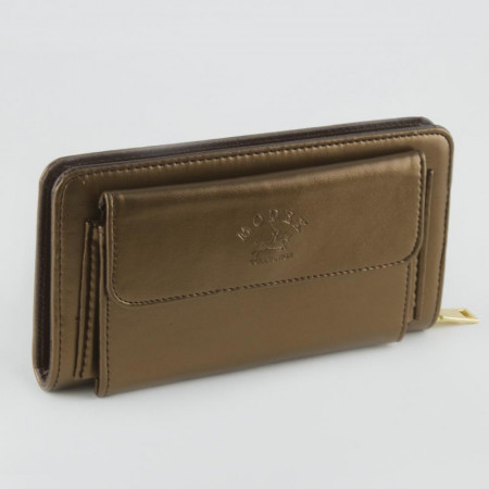 Women's Magnetic Leather Wallet