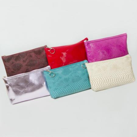 Women's Zipped Makeup Bag