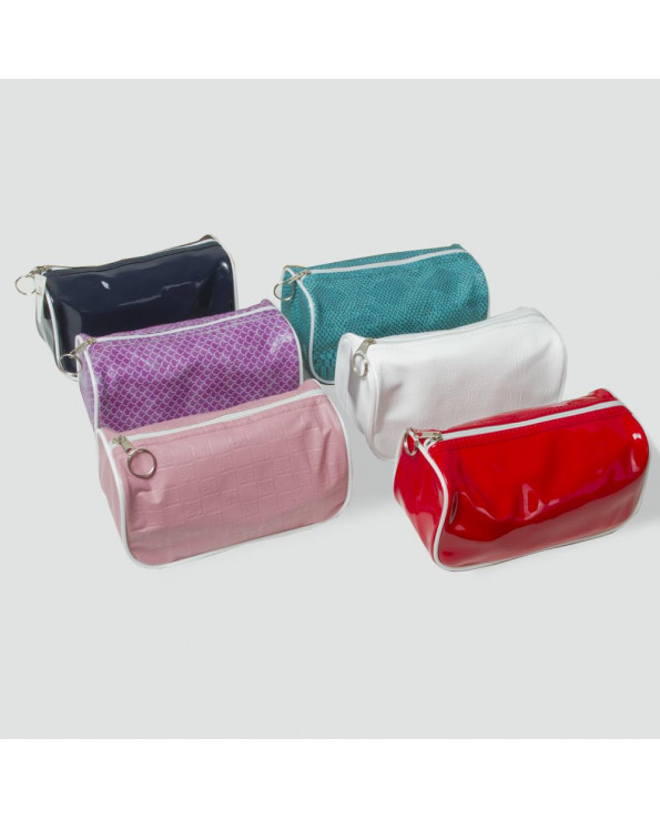 Women's Cylinder Shape Makeup Bag