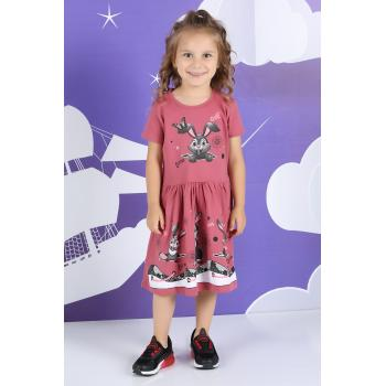 Girl's Shirred Waist Dress