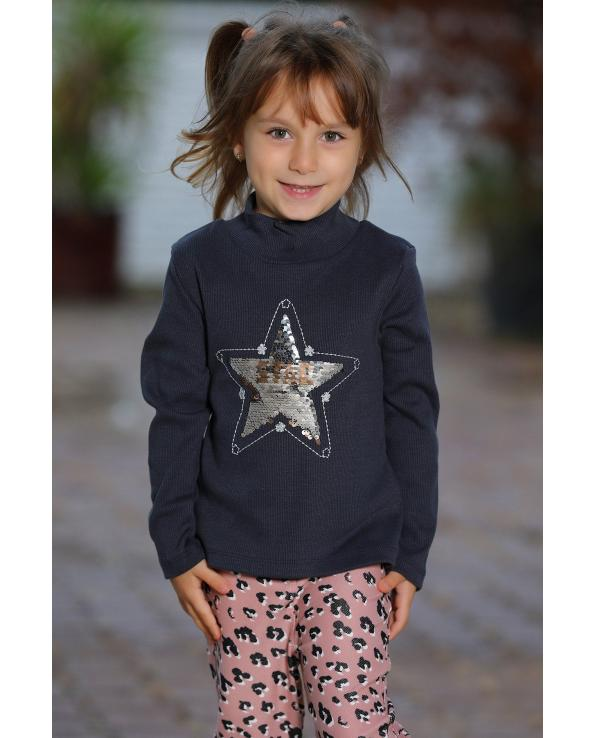Girl's Sequin Detail Sweatshirt