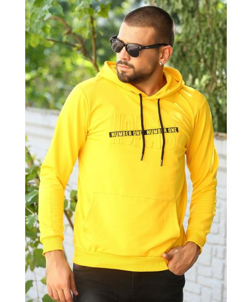 Men's Hooded Kangaroo Pocket Sweatshirt