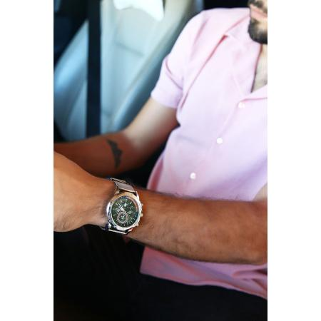 Men's Straw Metal Watch