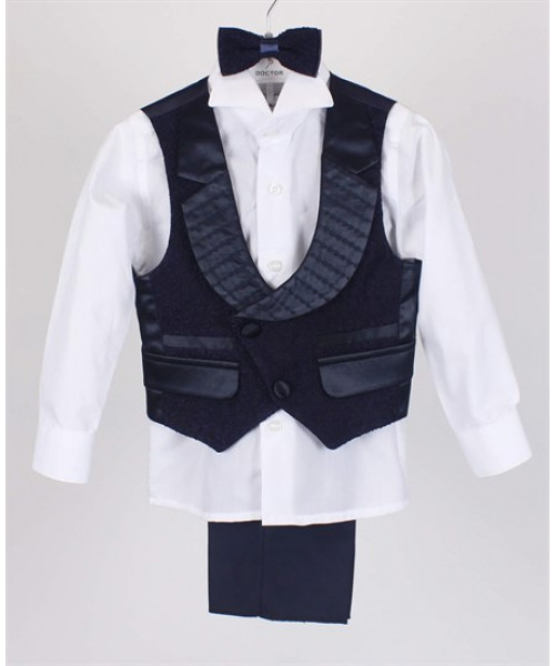 Boy's Classic Formal Suit With Waistcoat- Ages 1-7