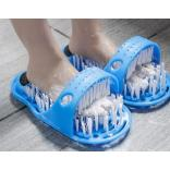 Suction Cup Gemmed Foot Washing Brush Slippers