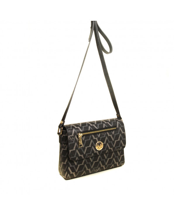 Women's Black Crossbody Bag