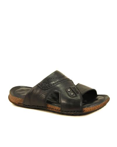 Men's Leather Summer Slippers