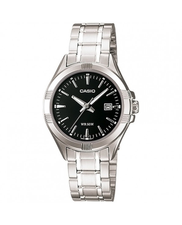 Women's Round Case Silver Metal Watch