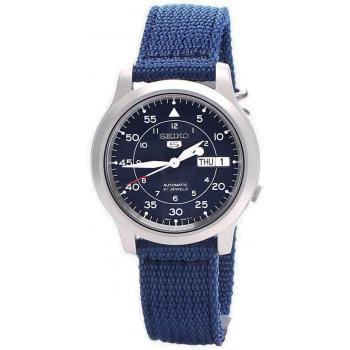 Men's Metal Case Blue Watch