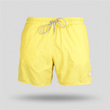 Men's Plain Yellow Swim Trunks