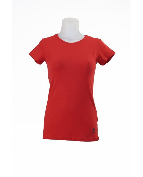US POLO ASSN STRETCH T-SHIRT - Red