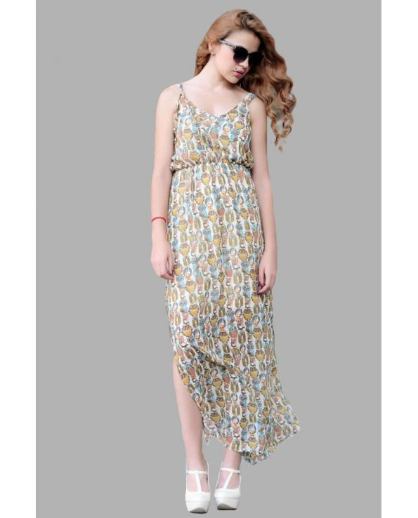 Vavin BLOUSON MAXI DRESS - Beige