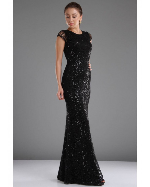 Vavin SEQUIN DRESS - Black