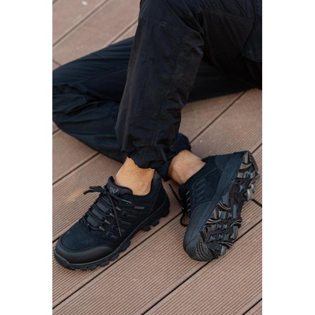 Men's Cold & Waterproof Black Outdoor Shoes