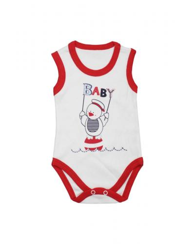 Unisex Baby's Printed Snapsuit