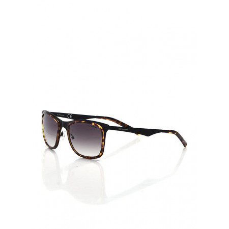 Men's Patterned Plastic Sunglasses