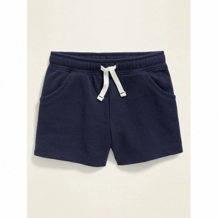 Girl's Navy Blue Shorts
