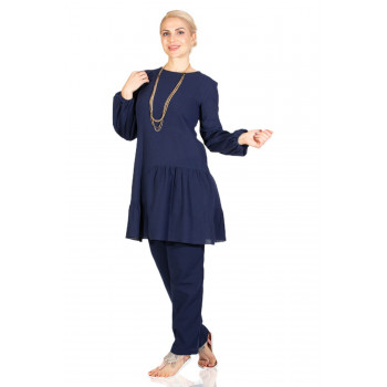 Women's Navy Blue Tunic