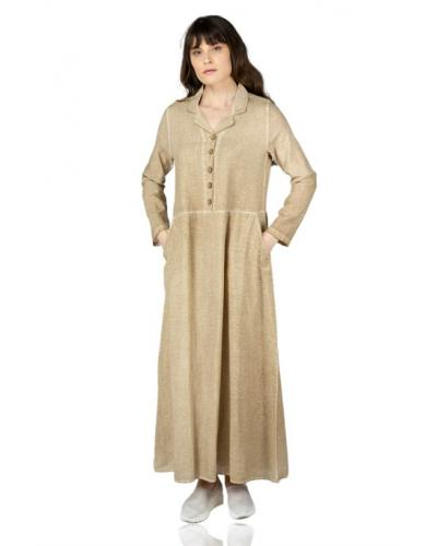 Women's Brown Long Dress