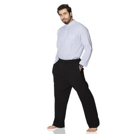 Men's Basic Black Pantalettes