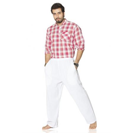 Men's Basic White Pantalettes
