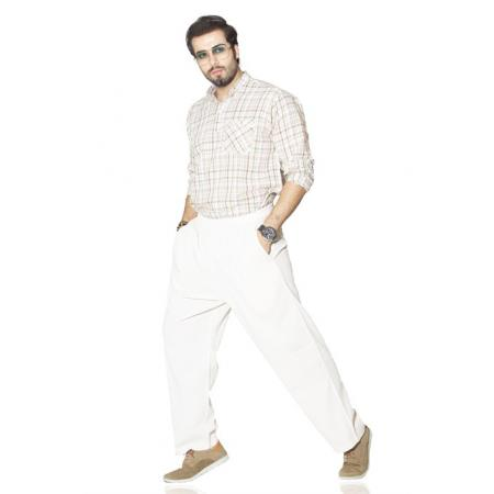 Men's Basic Cream Pantalettes