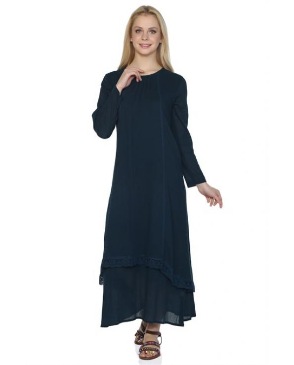 Women's Petrol Midi Dress