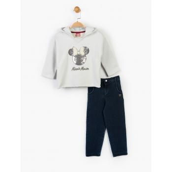 Girl's Hooded Outfit Set - 2 Pieces