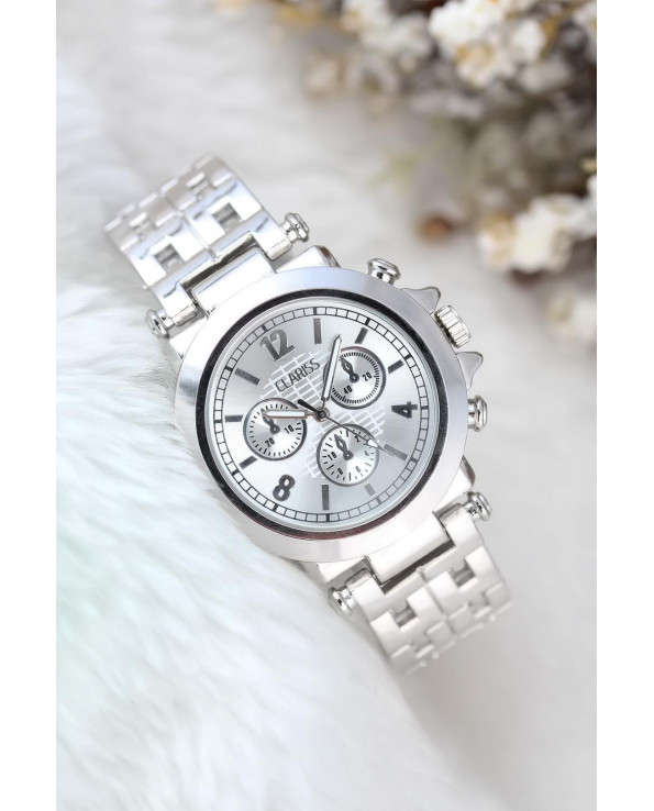 Women's Silver Metal Watch