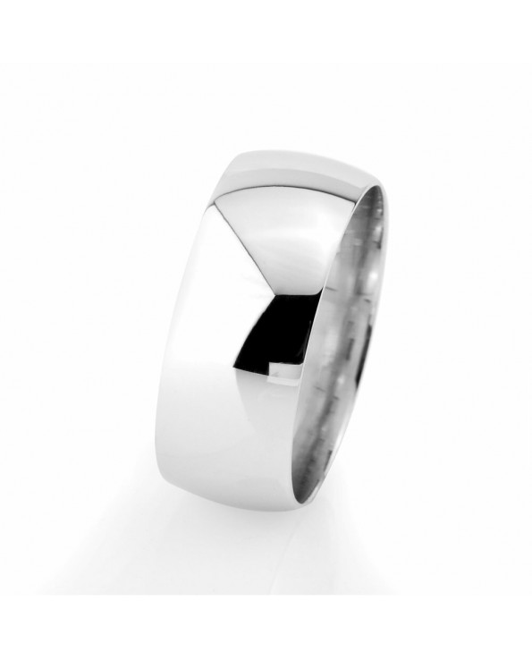 Men's Classic 925 Carat Silver Wedding Ring