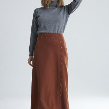 Women's Studded Long Skirt