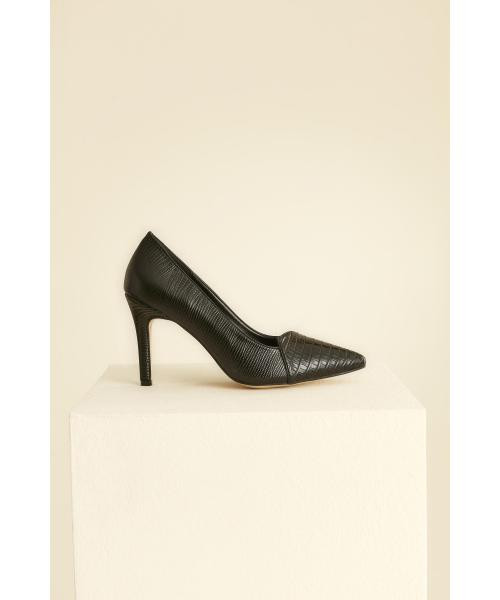 Women's Black Heeled Shoes