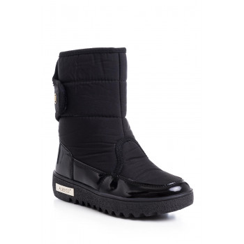 Girl's Black Snow Boots