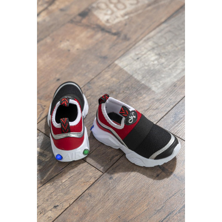 Kid's Red- Black Sport Shoes