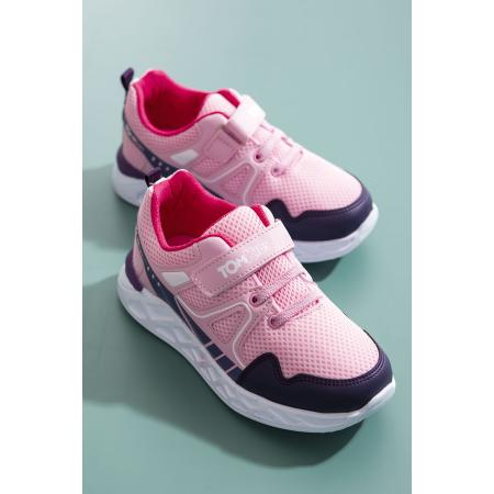 Unisex Kid's Lilac - Pink Sport Shoes